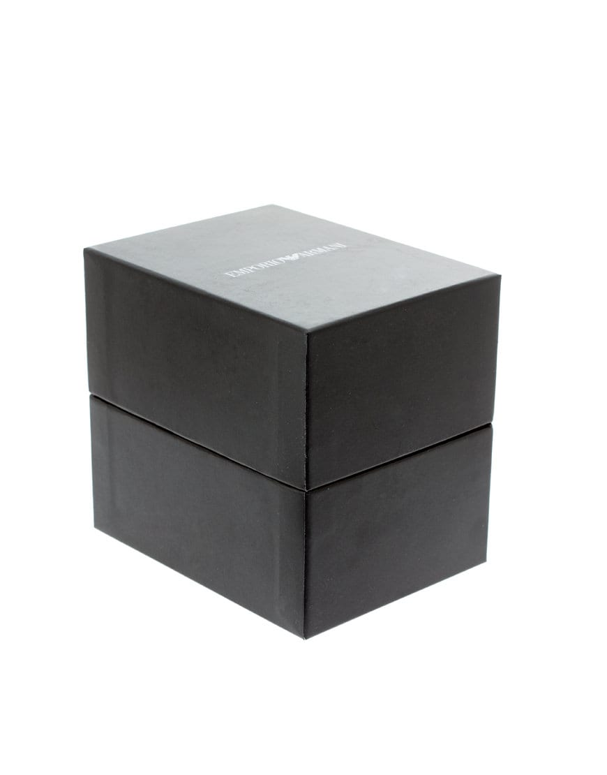 boite de montre armani. Black Bedroom Furniture Sets. Home Design Ideas