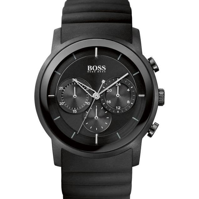 Préférence montre-hugo-boss-chrono-bracelet-silicone-1512639 | Le Barboteur BK71