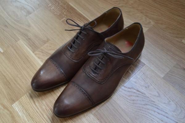 Chaussures richeulieus marron