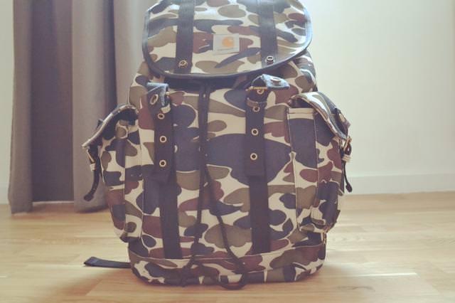 sac camouflage carhartt
