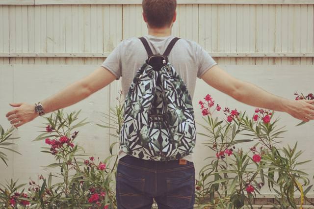 sac à dos american vintage
