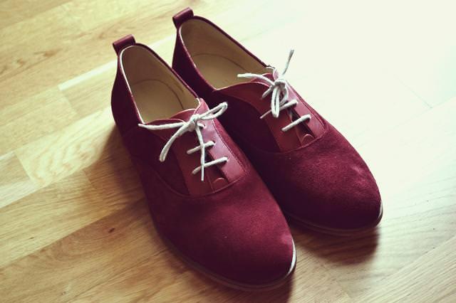 chaussures garçonne et chérubin