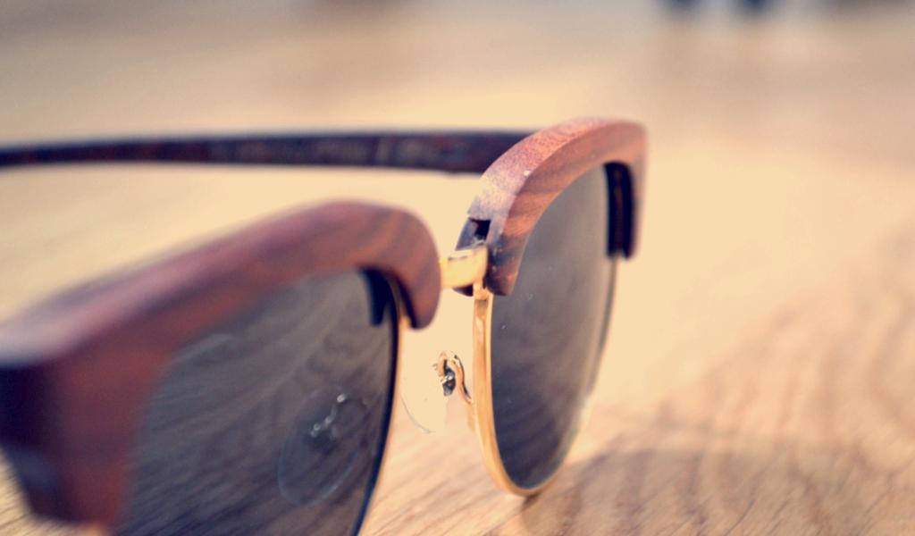 lunettes en bois rezin