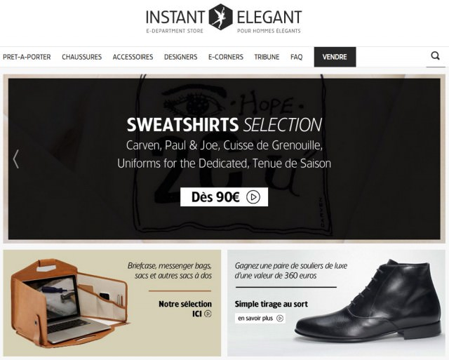 E-Department store Instant Elegant