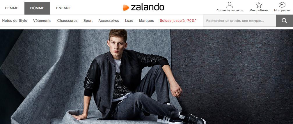 Nouveautés chez Zalando