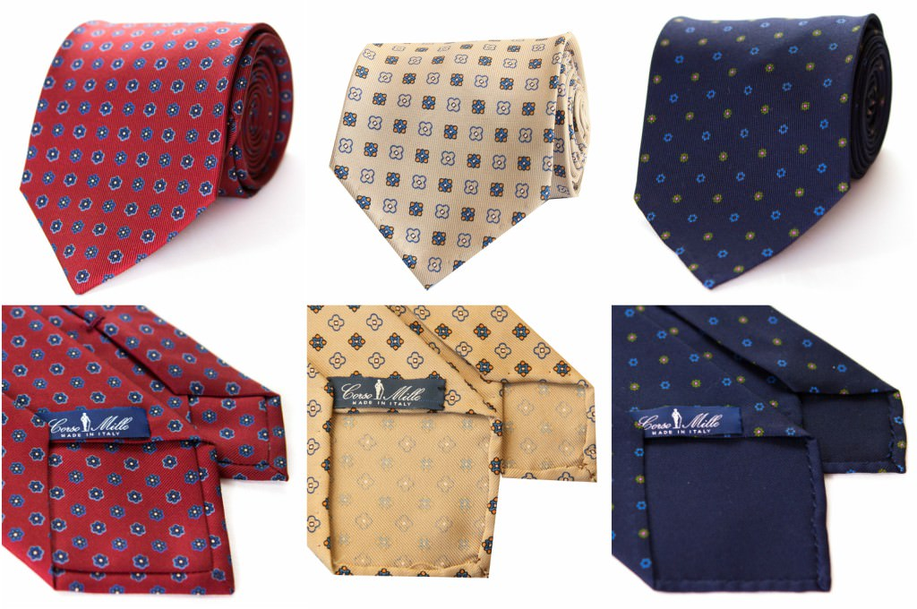 cravate-3-plis-twill-corso-mille