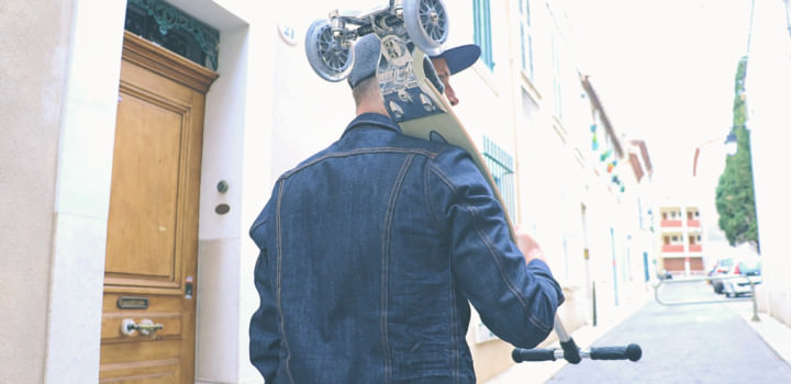 Kickboard Micro : La trottinette freestyle