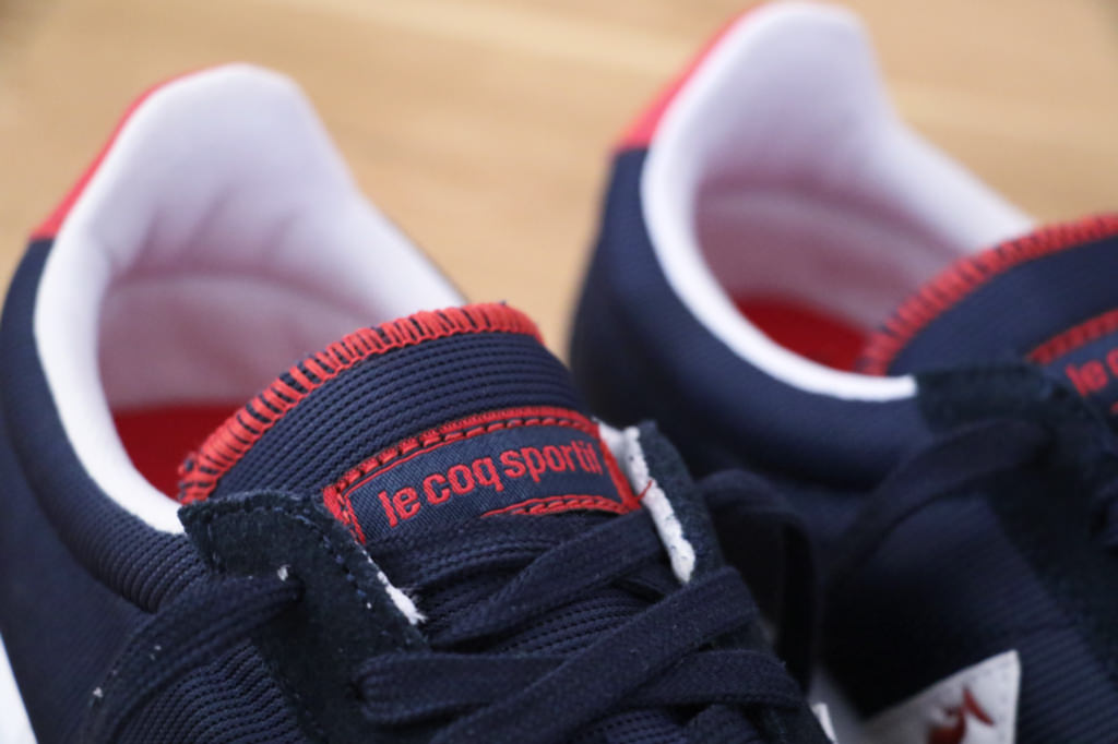 basket le coq sportif homme rouge
