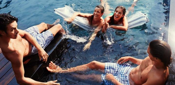 Short de bain Frescobol Carioca
