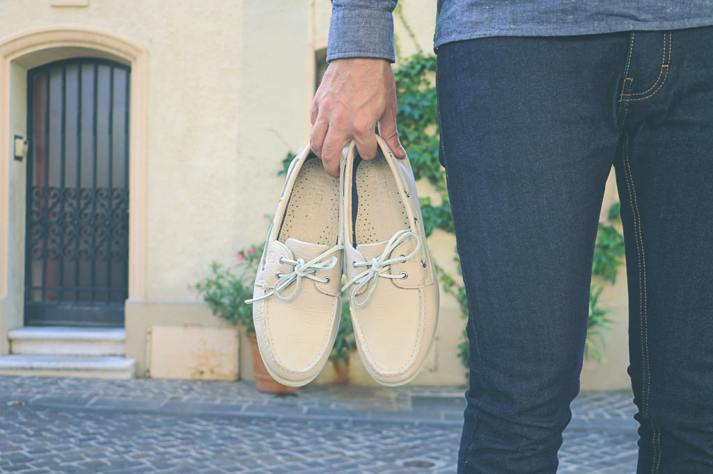 chaussures-bateaux-beige-sperry