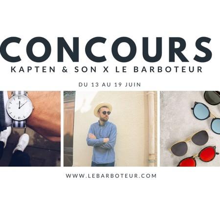 Concours Kapten & Son x Le barboteur