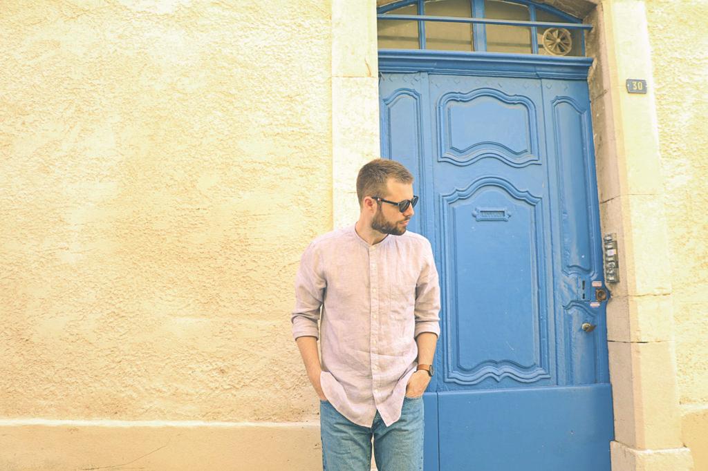 look-short-en-jean-chemise