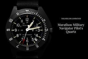 Montre Marathon Military Navigator Pilot's Quartz