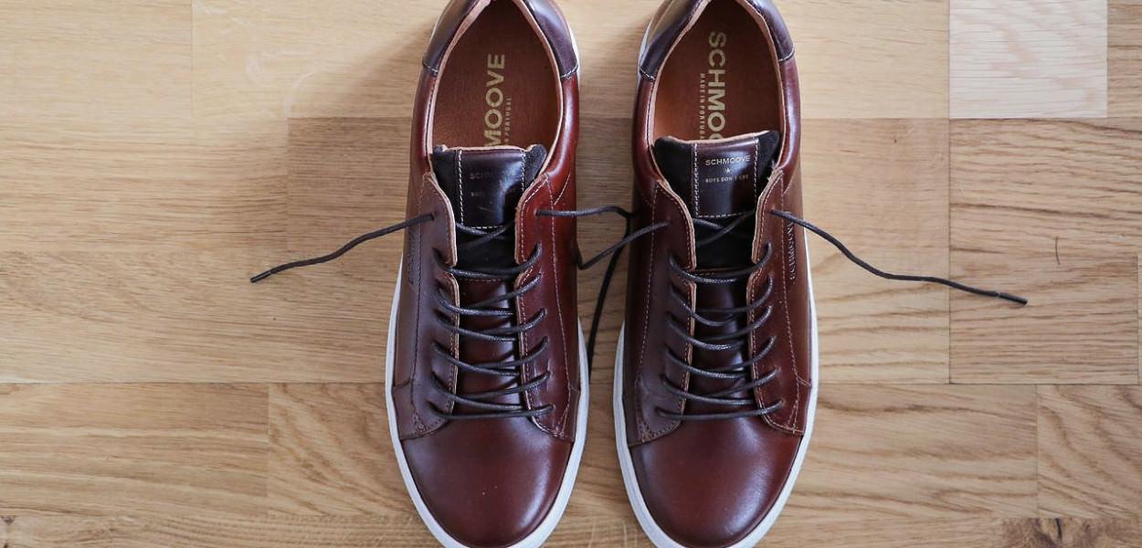 baskets-cuir-marron