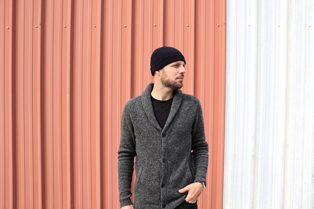 cardigan-gris-laine-homme