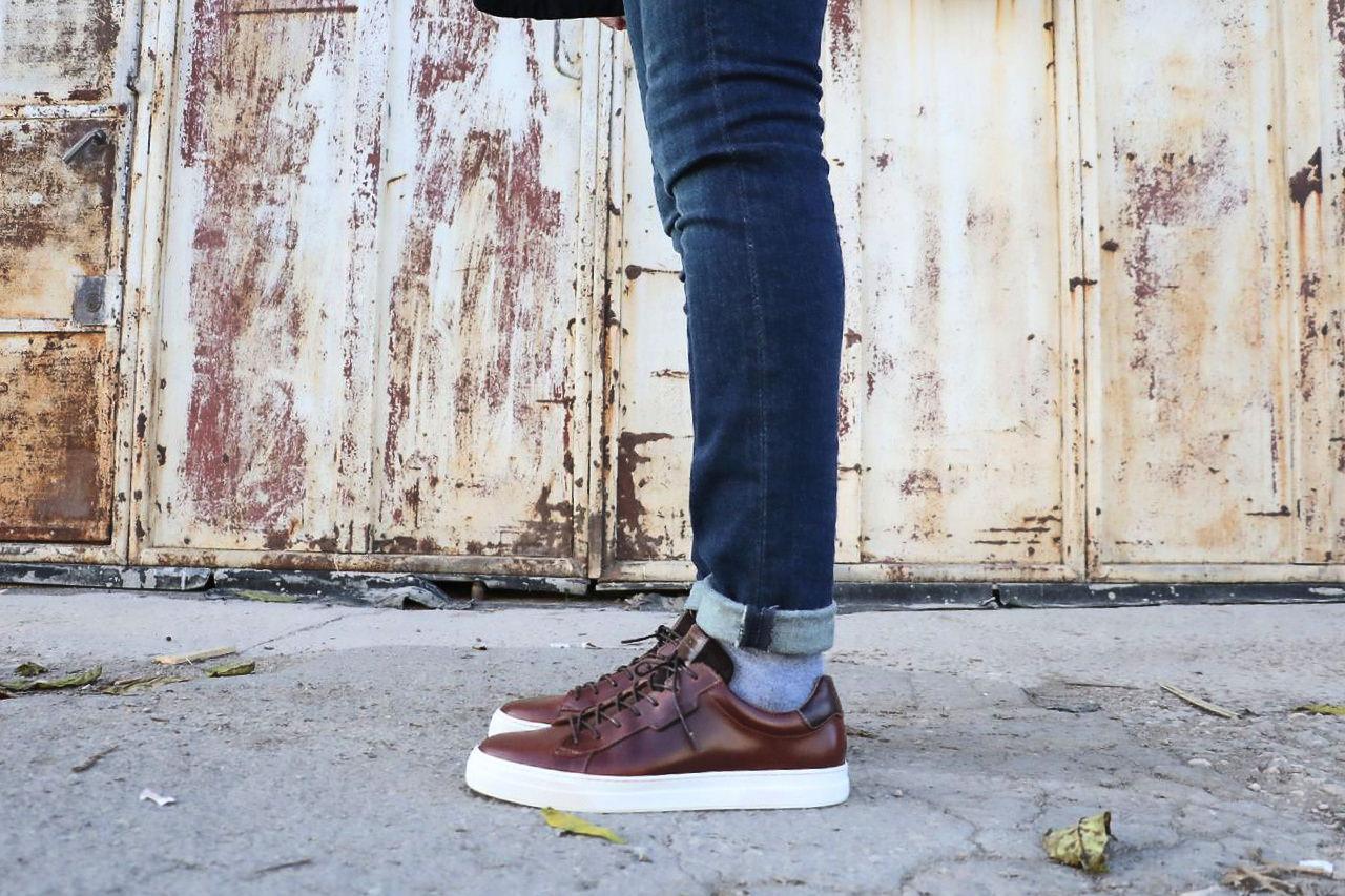 chaussures-en-cuir-marron