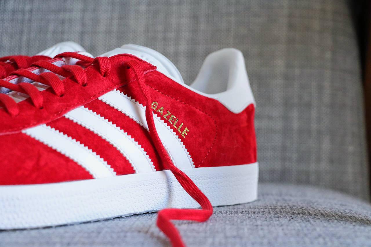 gazelle-adidas-rouge