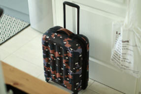 Bagage de cabine Eastpak x Paul & Joe