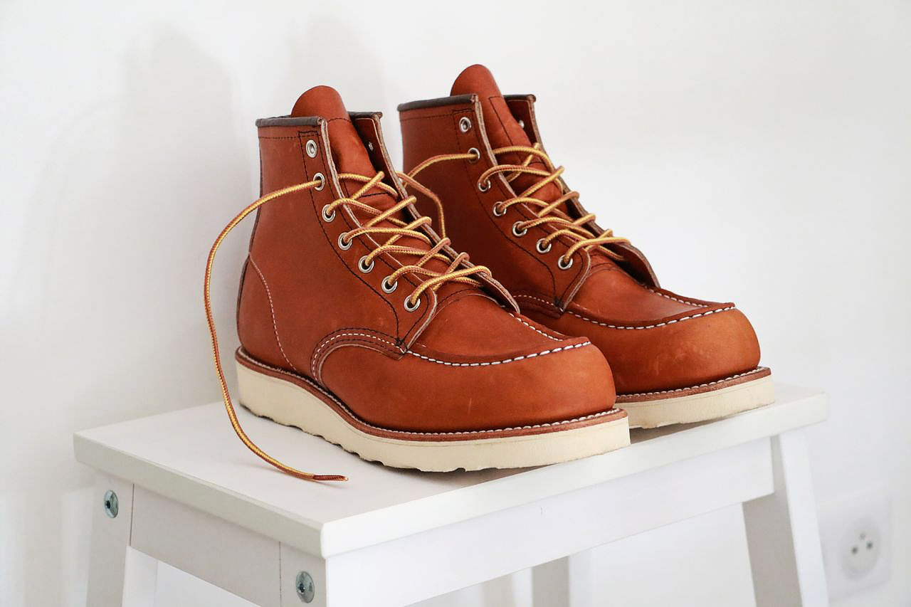 Red Barboteur Chaussures Heritage Le Wing znvg6vq