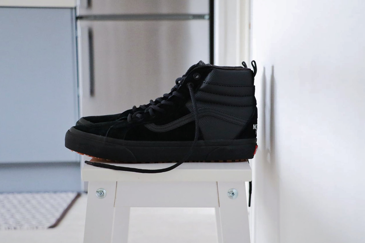 Chaussures North 6EzYTx Le Face Barboteur x The Vans Rn5waPfxAq