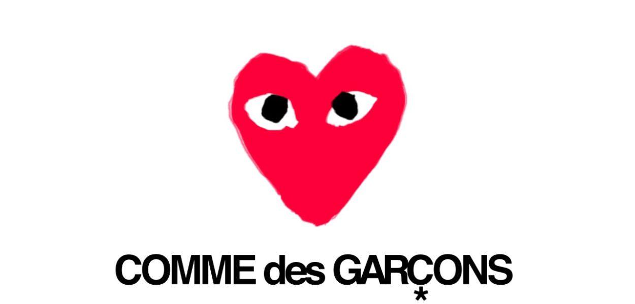 online store 0fd99 dfe3c COMME des GARÇONS logo
