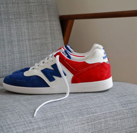 Sneakers 576 Made in UK Tri Colour