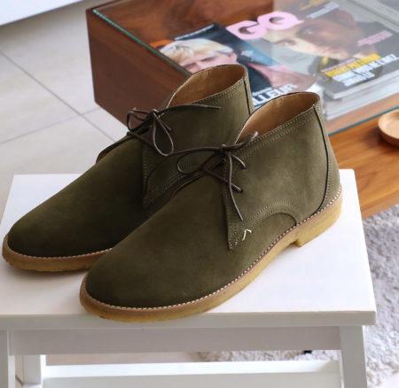 Desert Boots Alain M. Moustache