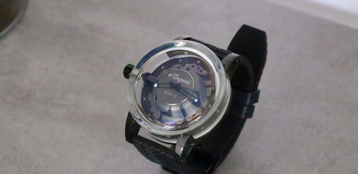 Montre S.T. Dupont Hyperdome Be Extreme