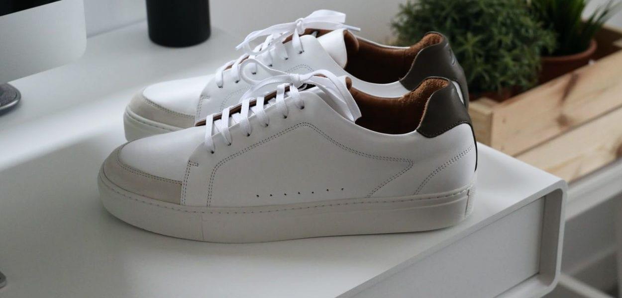 baskets-en-cuir-blanche