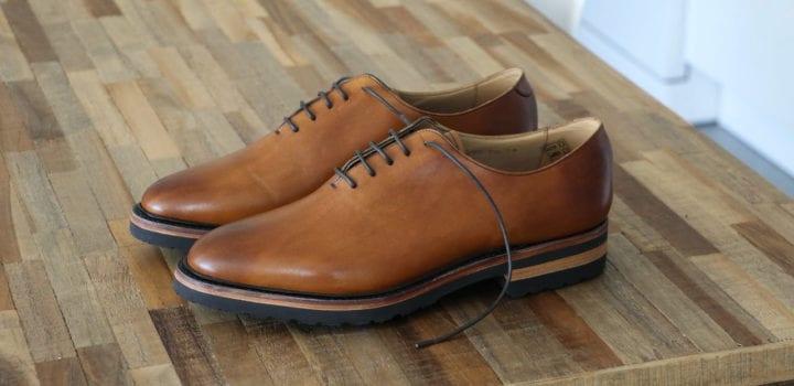 Chaussures Maison Hardrige Woody Gold