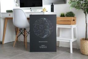 The Star Poster : la carte du ciel personnalisée