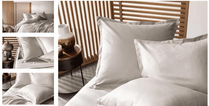 linge-de-lit-hotel-coton-satin