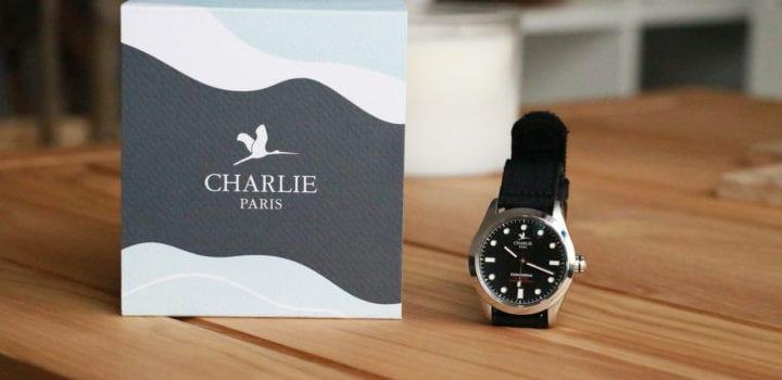 Montre de plongée Concordia Charlie Paris