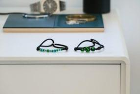 Michael Vessiere Bracelet : des bracelets français en verre et cristal
